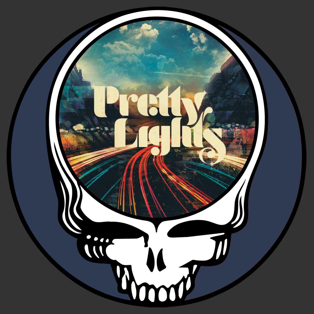 Steal Your Face Pretty Lights Acmots Png 1000 1000 Concert Poster Art Grateful Dead Greatful Dead