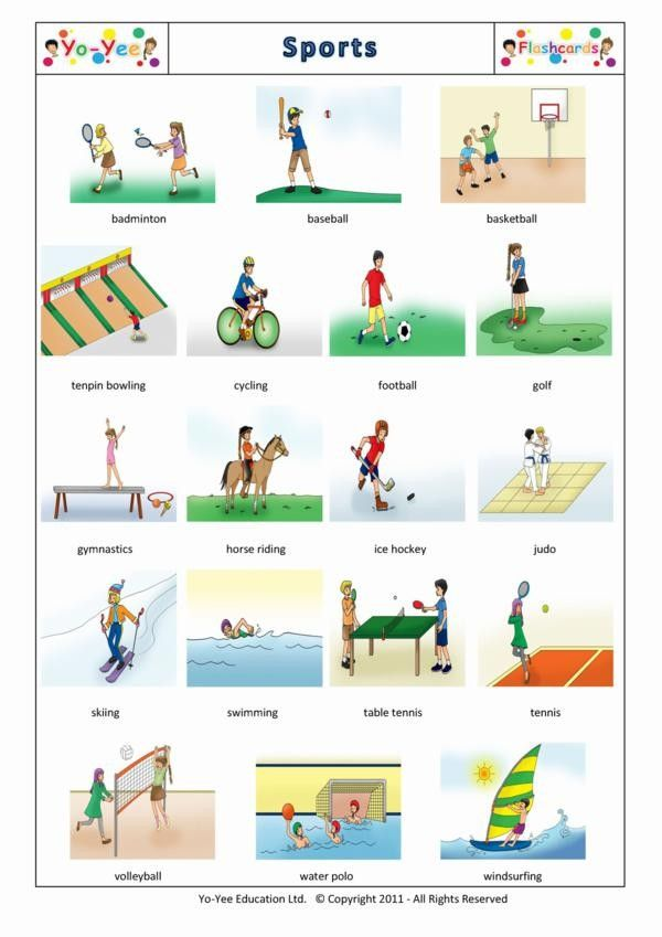 Worksheet German Intermediate For Children Lessons english sports flashcards for children teaching young learners easy vocabulary with