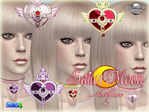 Jom Sims Creations: SAILOR MOON collier 2 • Sims 4 Downloads