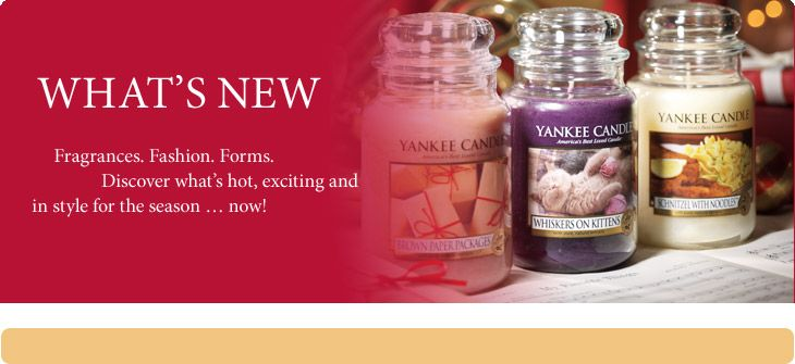 Make your home SMELL as good as if feels with scents from #YankeeCandle