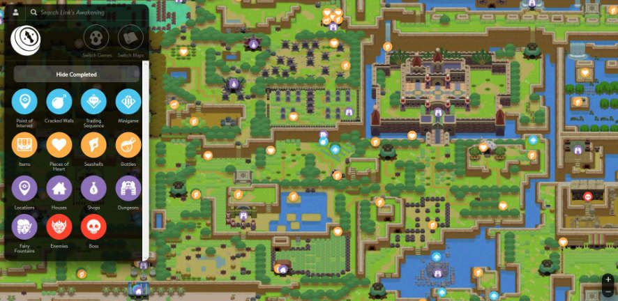 Zelda Breath Of The Wild Shrine Maps And Locations Breath Of