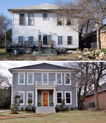love this fixer upper home from hgtv beautiful home exteriors pinterest. Black Bedroom Furniture Sets. Home Design Ideas