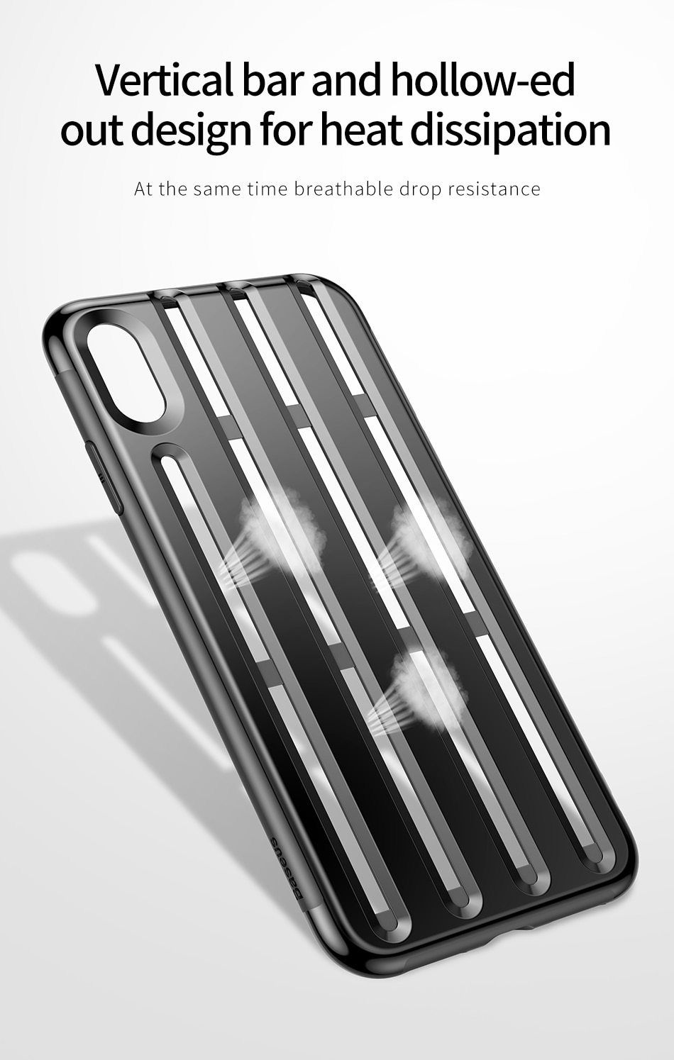 Rugged Ventilated Hybrid Protective Armor Case For iPhone
