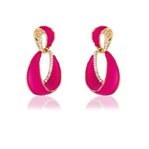 Pink chandelier earring dress jewelry online indian dresses collection pink chandelier earring dress jewelry online aloadofball Image collections