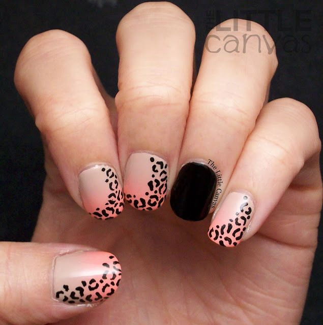 The Little Canvas: The One with the Nude and Neon Leopard