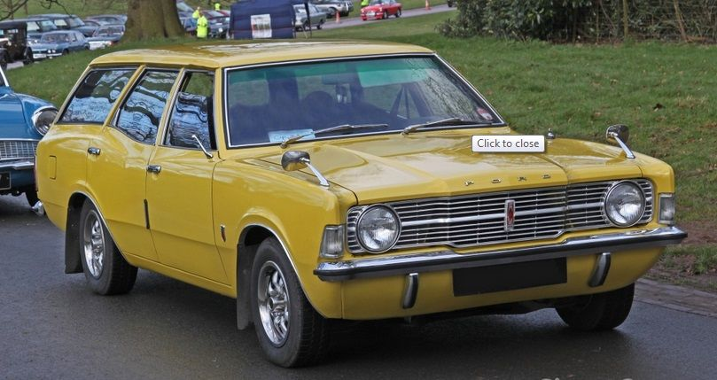1972 Ford Cortina Xl Estate Wagon Ford Classic Cars Ford