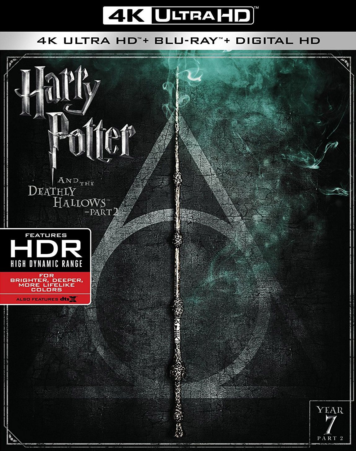 Harry Potter And The Deathly Hallows Part 2 4k Ultra Hd Review Deathly Hallows Part 2 Harry Potter 4k Harry Potter Film