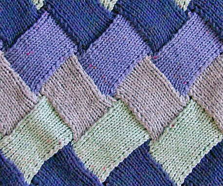 Basic Knitting Patterns Entrelac Knitting Patterns Free Knitting