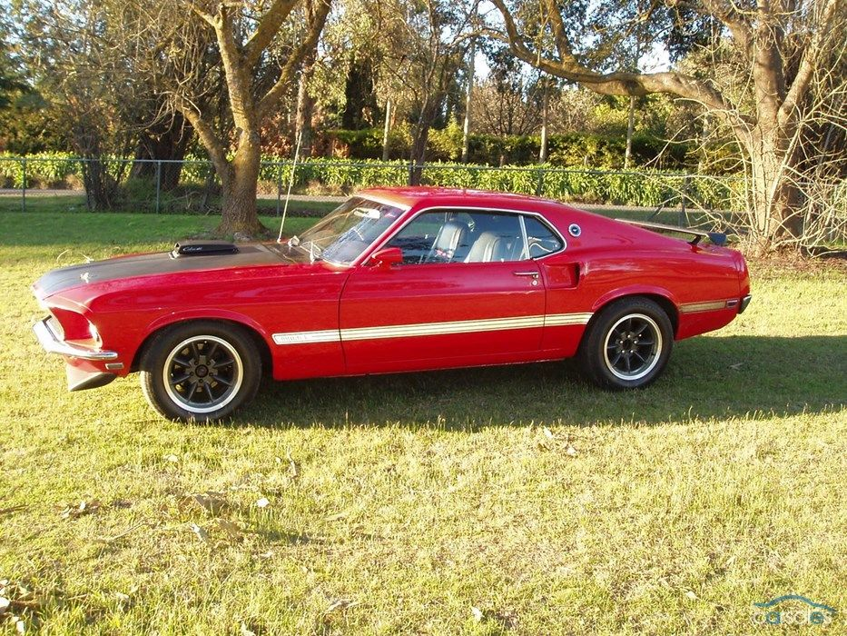 1969 Ford Mustang Mach 1 Cobra Jet 65 000 Right Hand Drive