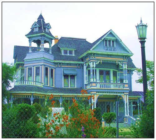 Edwards Mansion is a Victorian house in Redlands, California
