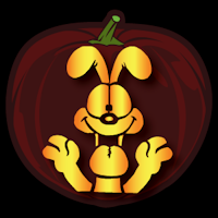 Odie 02 Pumpkin Stencil Pumpkin Stencil Pumpkin Patterns Free Garfield And Odie