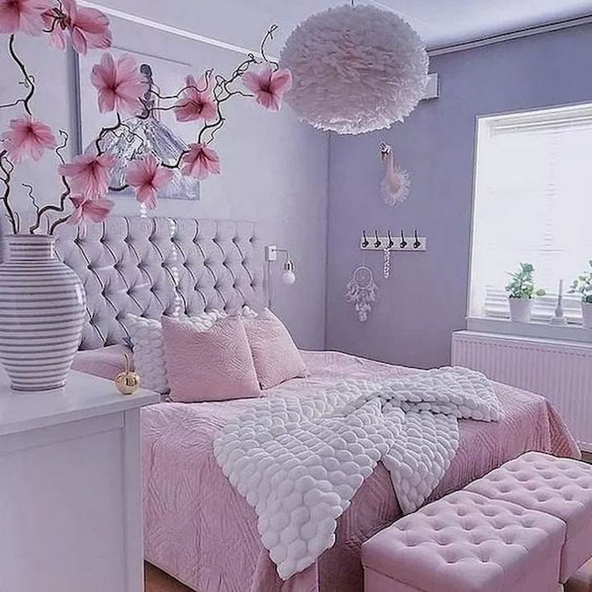 60 Cute Bedroom Design And Decor Ideas For Kids Girly Bedroom Bedroom Decorating Tips Pink Bedroom Design