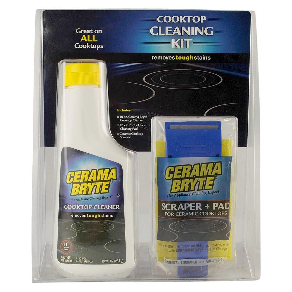 Range Kleen Cerama Bryte Stovetop Cleaning Kit Set of 3