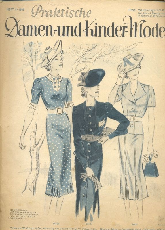 1938 Great hats! | 1938-1941 Best Fashion Years | Pinterest