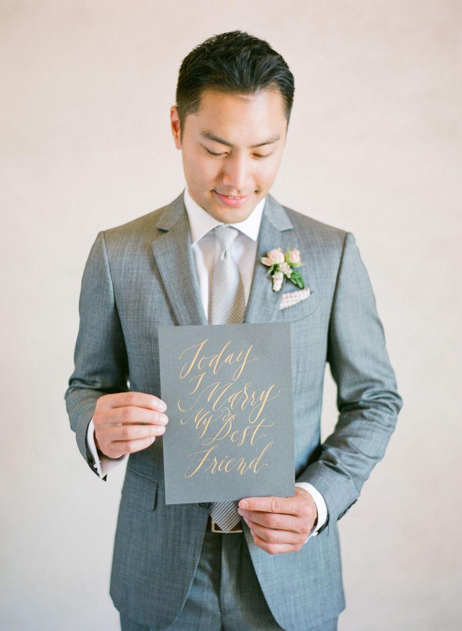 Soft + Romantic Summer Winery Wedding | Romantic, Wedding and Groom ...