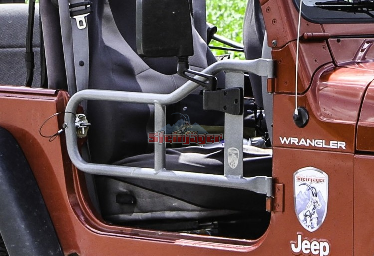 Tj Tube Doors 2 Made In Usa The Steinjager Tube Door S Main Construction Is 1 25 And Custom Machined Door Jeep Wrangler Tj 2006 Jeep Wrangler Wrangler Tj