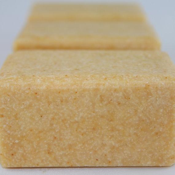 Bulk Lemongrass Salt Soap #HomemadeSkinCareForAcne
