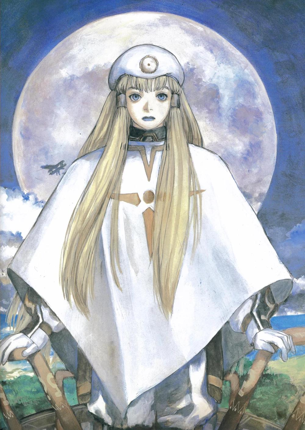 dianna soreil illustration by kenji tsuruta イラスト 鶴田 謙二 ガンダム イラスト