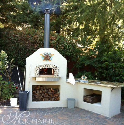 Residential Oven Exterior Installation In Lafayette Ca Pizza Oven Outdoor Outdoor Pizza Outdoor Wood