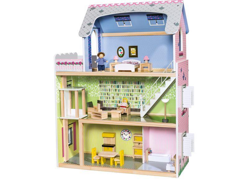 1Dollhouse Dollhouse29 Lidlbambole pezzi Junior Playtive® DYH2Ie9WE