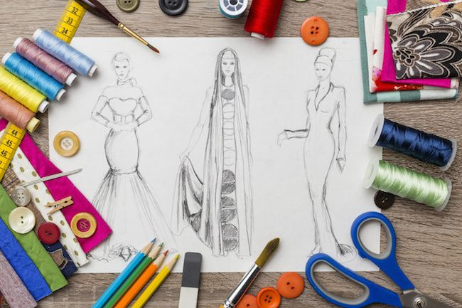A Day In The Life Of A Clothes Designer The Workher Fashion Designing Course Fashion Design Software Fashion Designing Institute