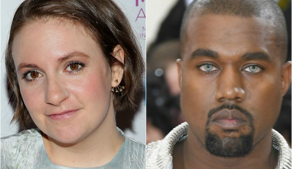 Lena Dunham Defends Taylor Swift Kanye West S Famous Video Is Disturbing And Sickening Taylor Swift Kanye West Lena Dunham Kanye West