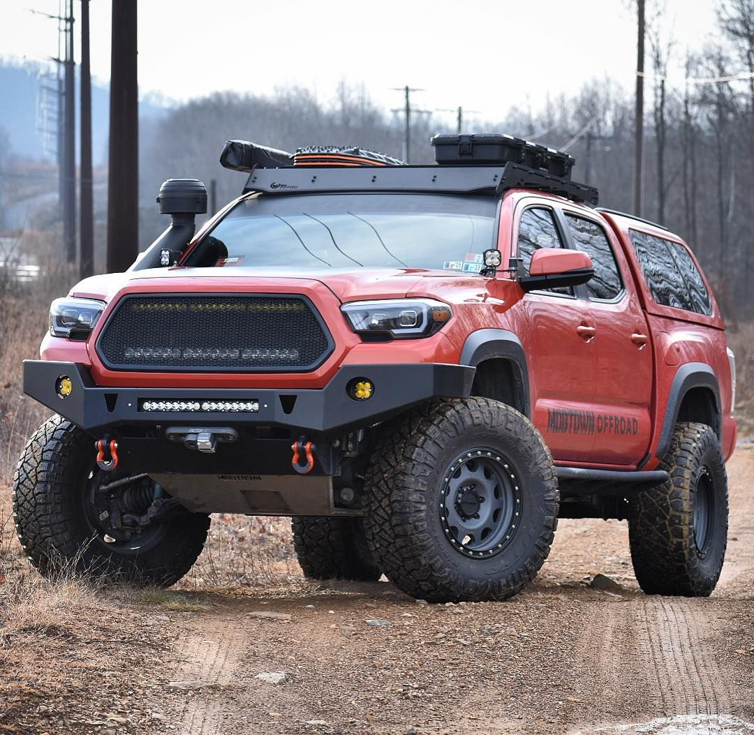 Image May Contain Car And Outdoor Toyota Tacoma Toyota Tacoma Roof Rack Overland Truck