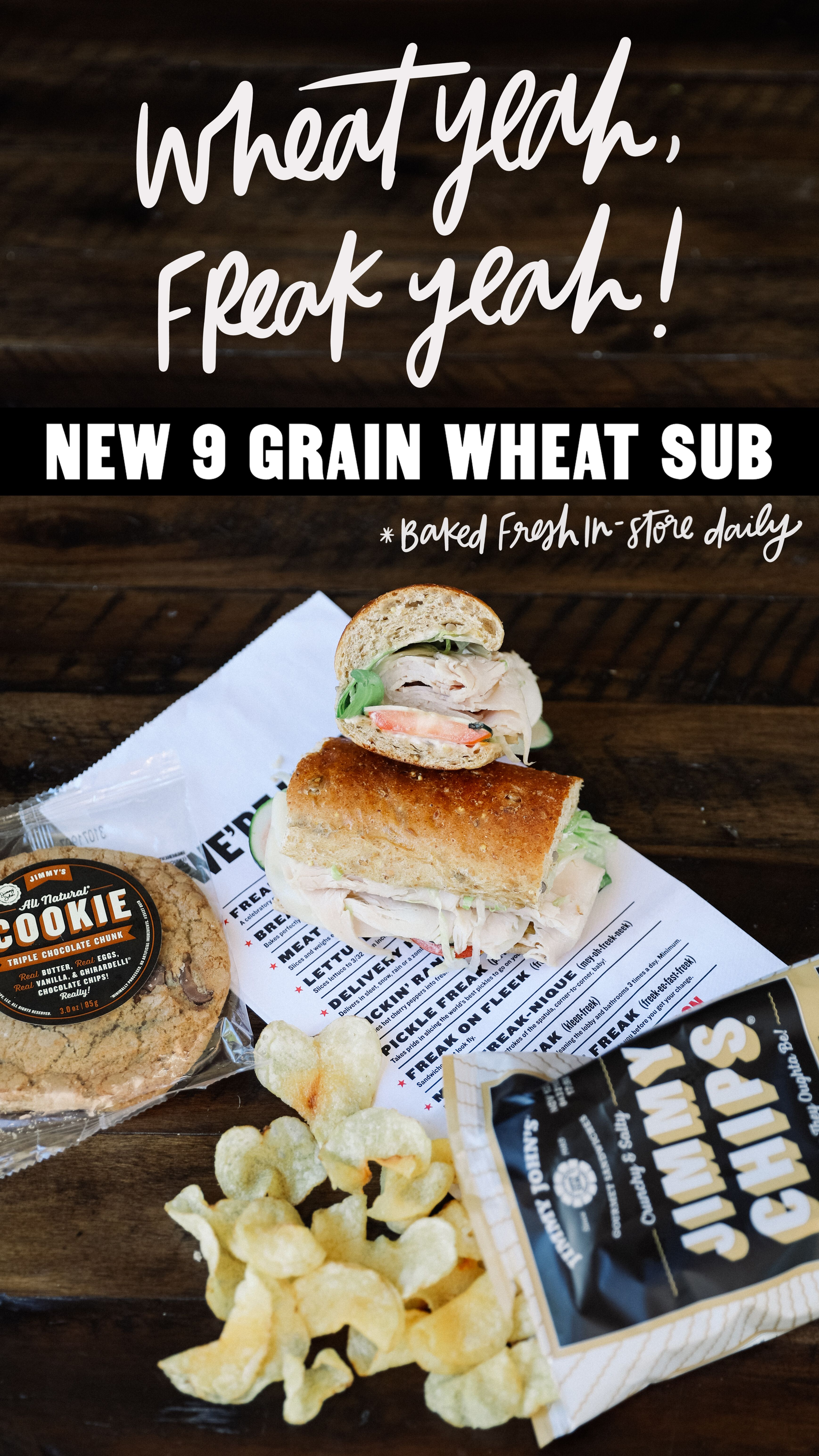 Jimmy John's is taking bread to a whole new level with