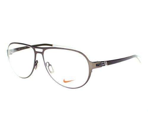 New Nike Rx Prescription Eyeglass Frame #8108-001 (Black Chrome ...