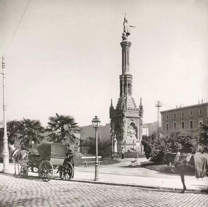 Plaza de colon 1906