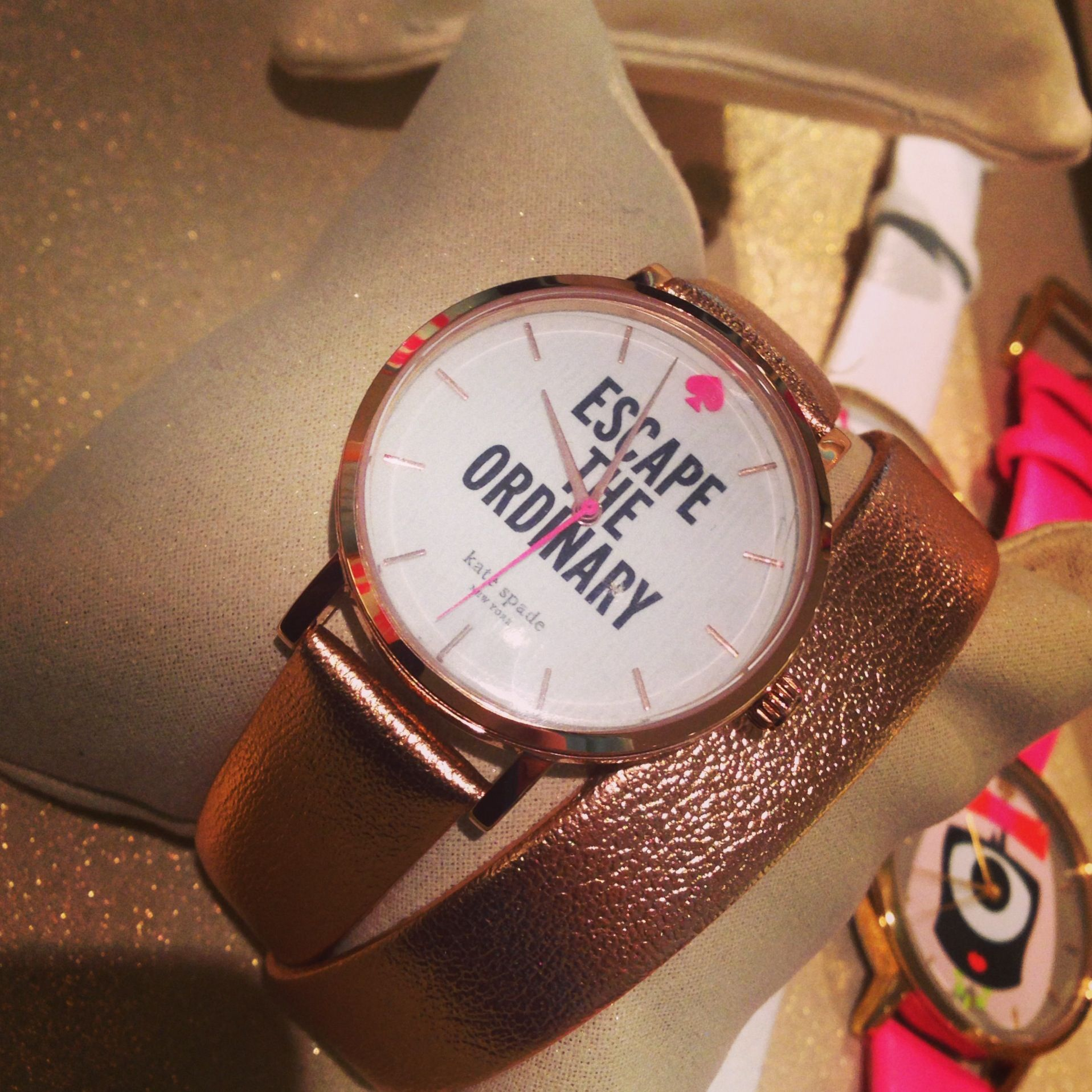 #katespade quote watch. #iwantthis