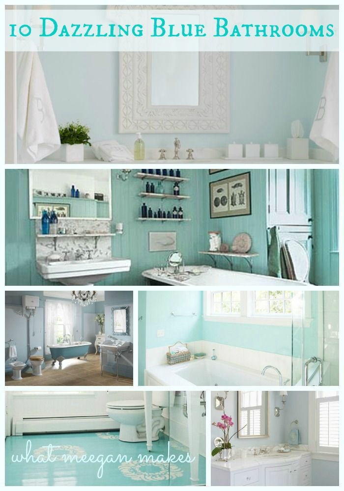 Ive Got The Monday Blues With 10 Dazzling Blue Bathrooms I Think