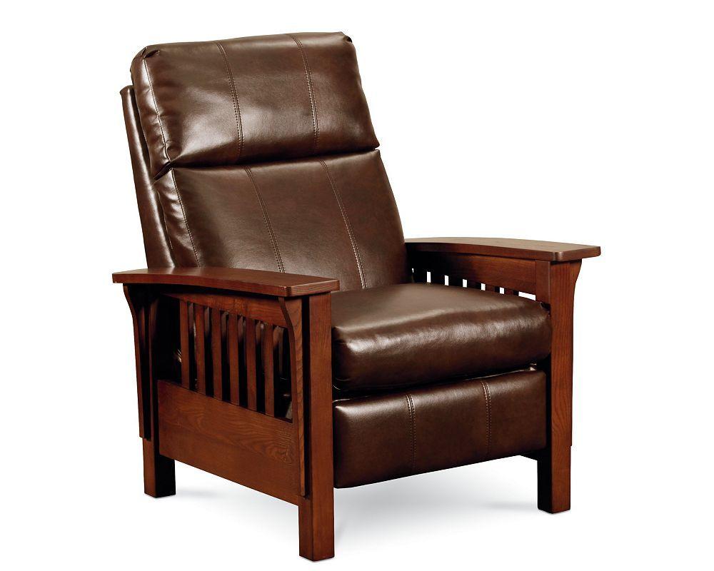 Mission High Leg Recliner Sku 2 2769 Faux Leather Sofa High Leg Recliner Lane Furniture