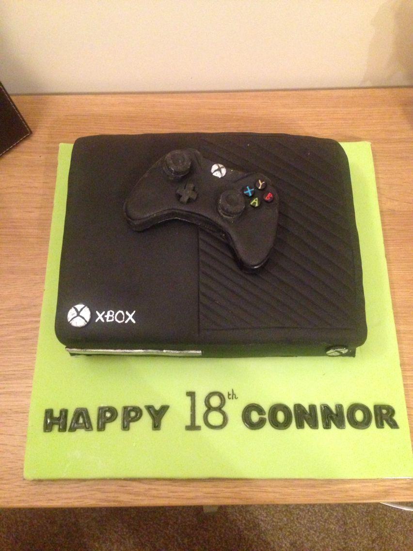 Xbox One Cake Xbox Party Xbox One Cake 12th Birthday Cake Pictures