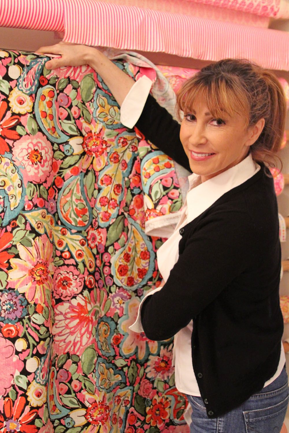 Dena with her California Dreaming Collection by Dena™ Home ...
