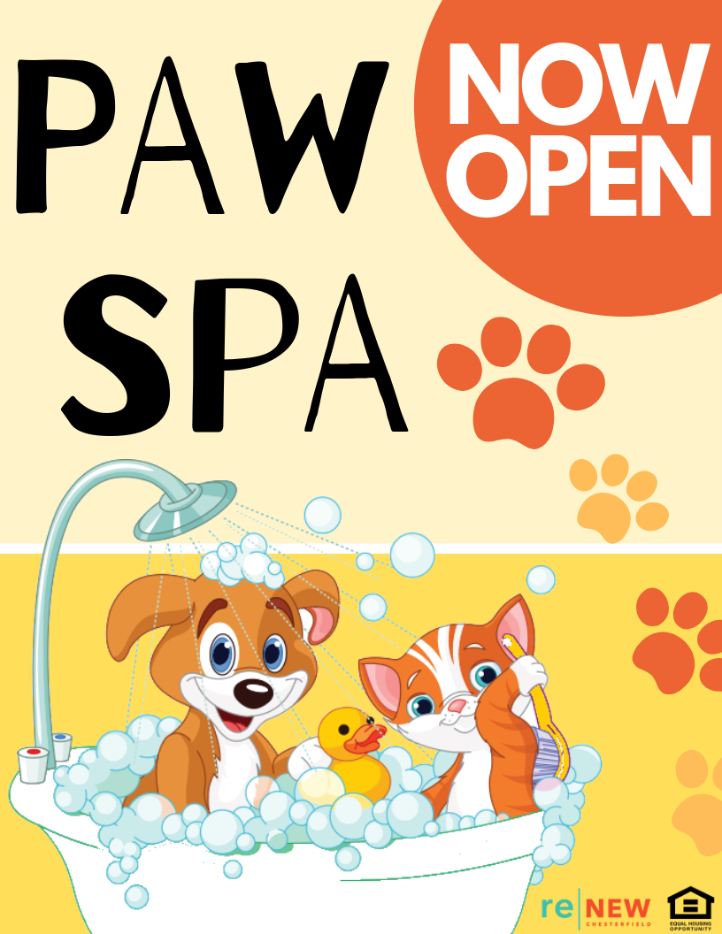 We know you've been waiting...the Paw Spa is NOW OPEN!!
