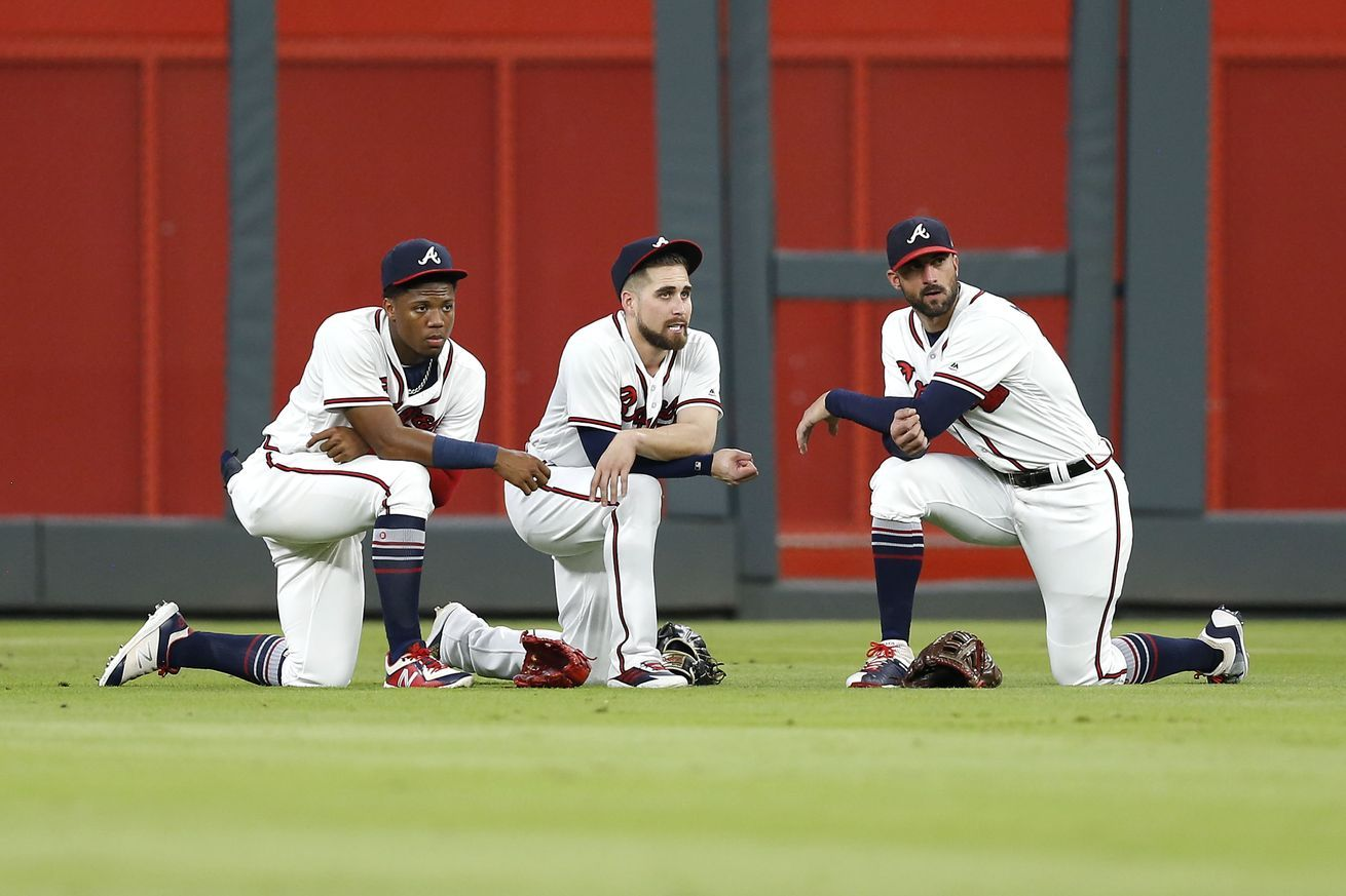 Erick Malpica Flores Carlos Erick Malpica Flores Braves Lined Up With Dodgers In The Nlds Carloserikmalpicaflores Atlanta Braves Braves Atlanta