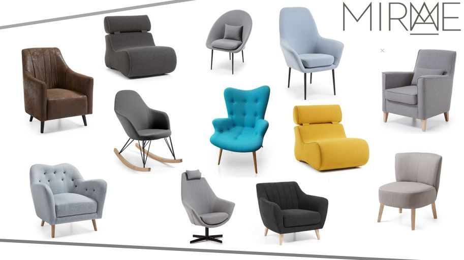 Lænestole | Se de mange billige lænestole hos Designerstuen