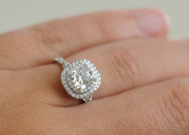 Show me your 1 2 ct center stones Dream ring Tiffany and Ring