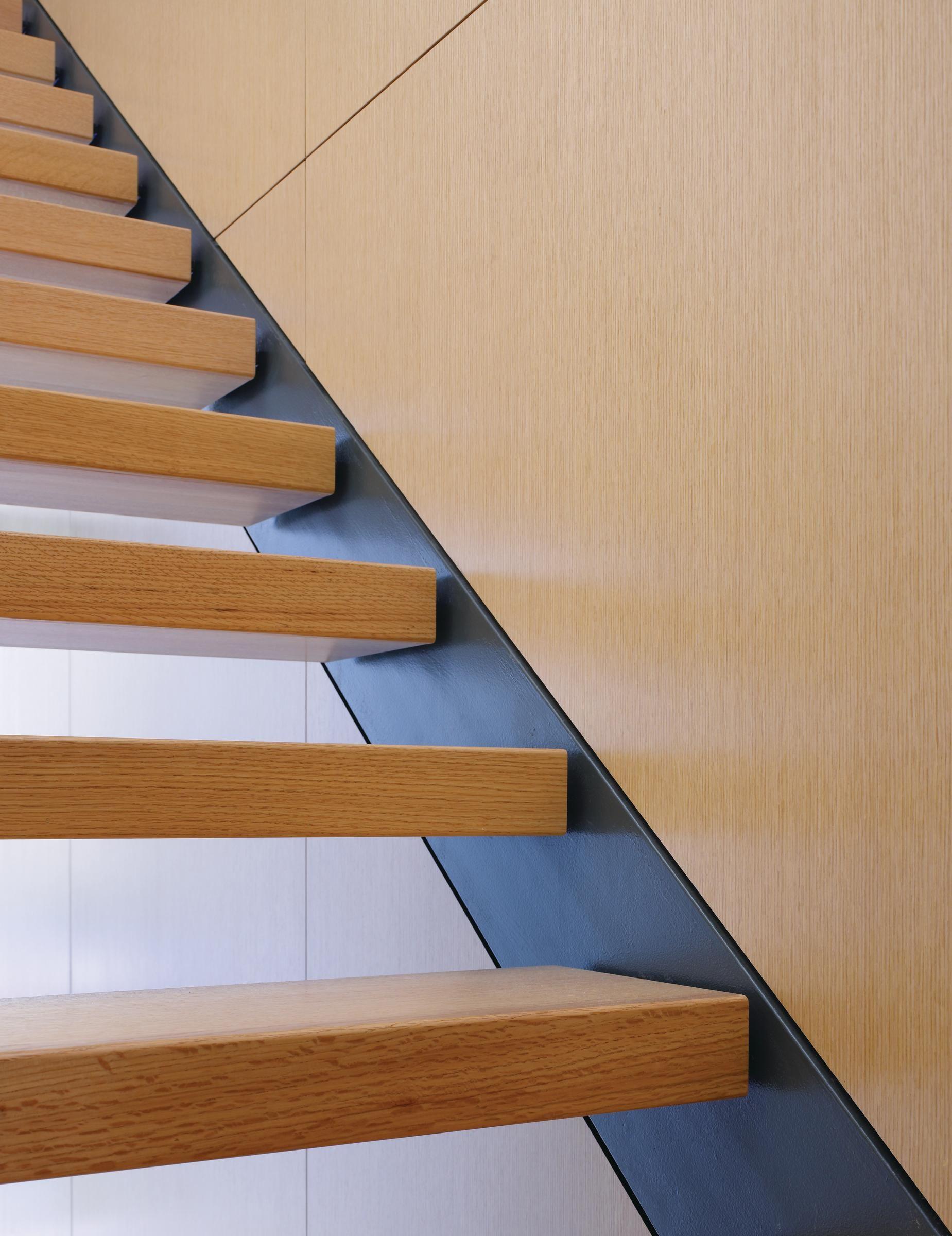 Best Sculptural Steel Stairwells Staircase Design Modern 640 x 480