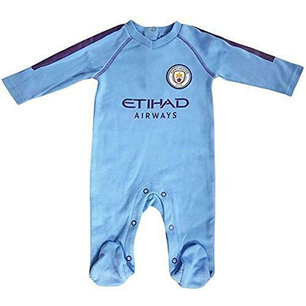 Brecrest Manchester City Baby Sleepsuit 2019/20-0-3 Months #Fitness #Yoga #Clothing #Women #Trousers...