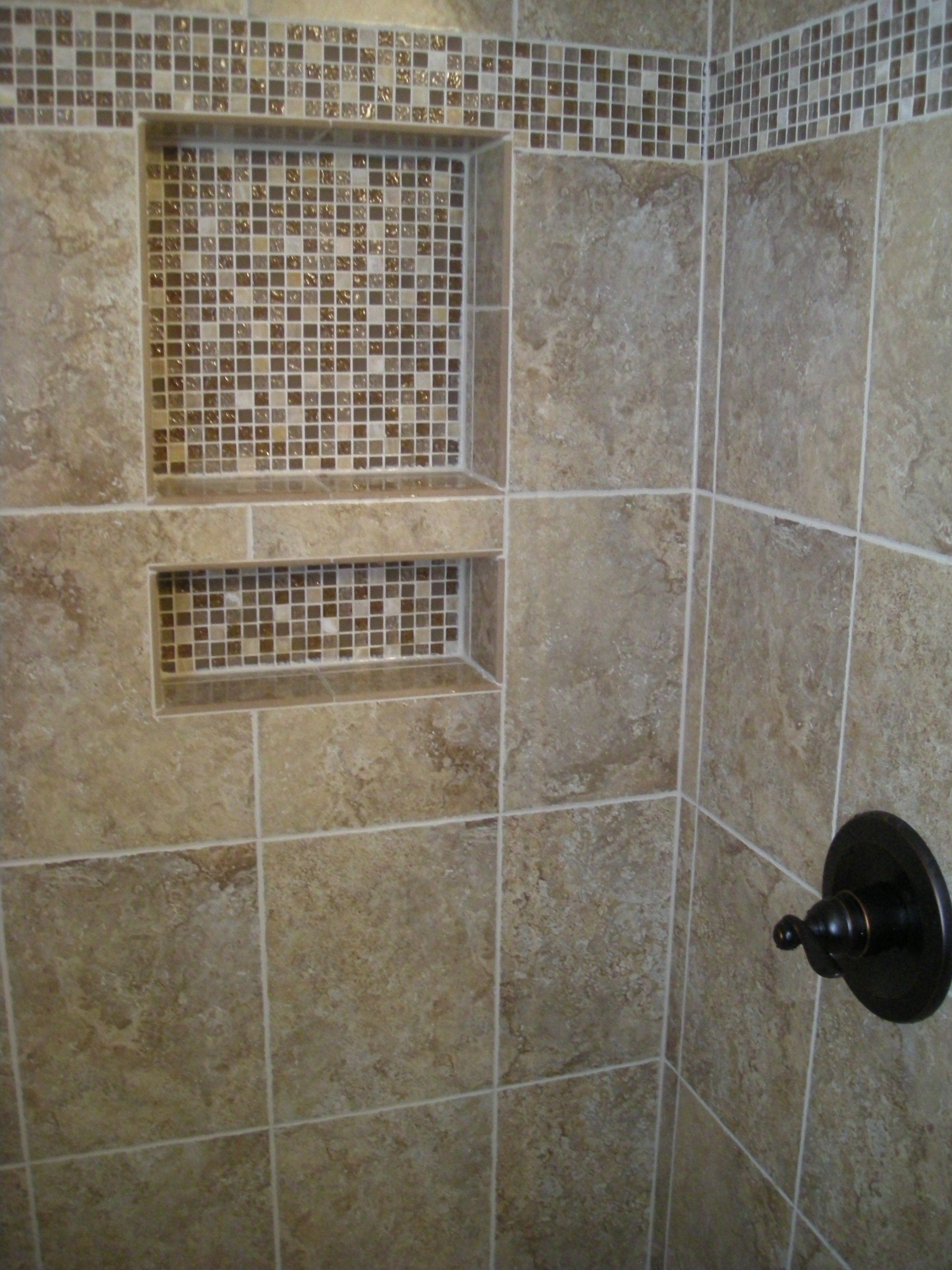 pictures of tile showers | ... for holding all your shower ...