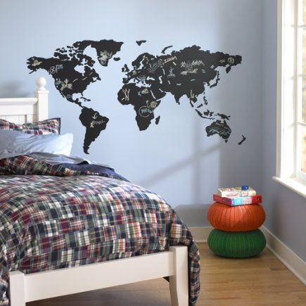 Kids wall decals world map chalkboard decal world map chalkboard kids wall decals world map chalkboard decal world map chalkboard decal gumiabroncs Gallery