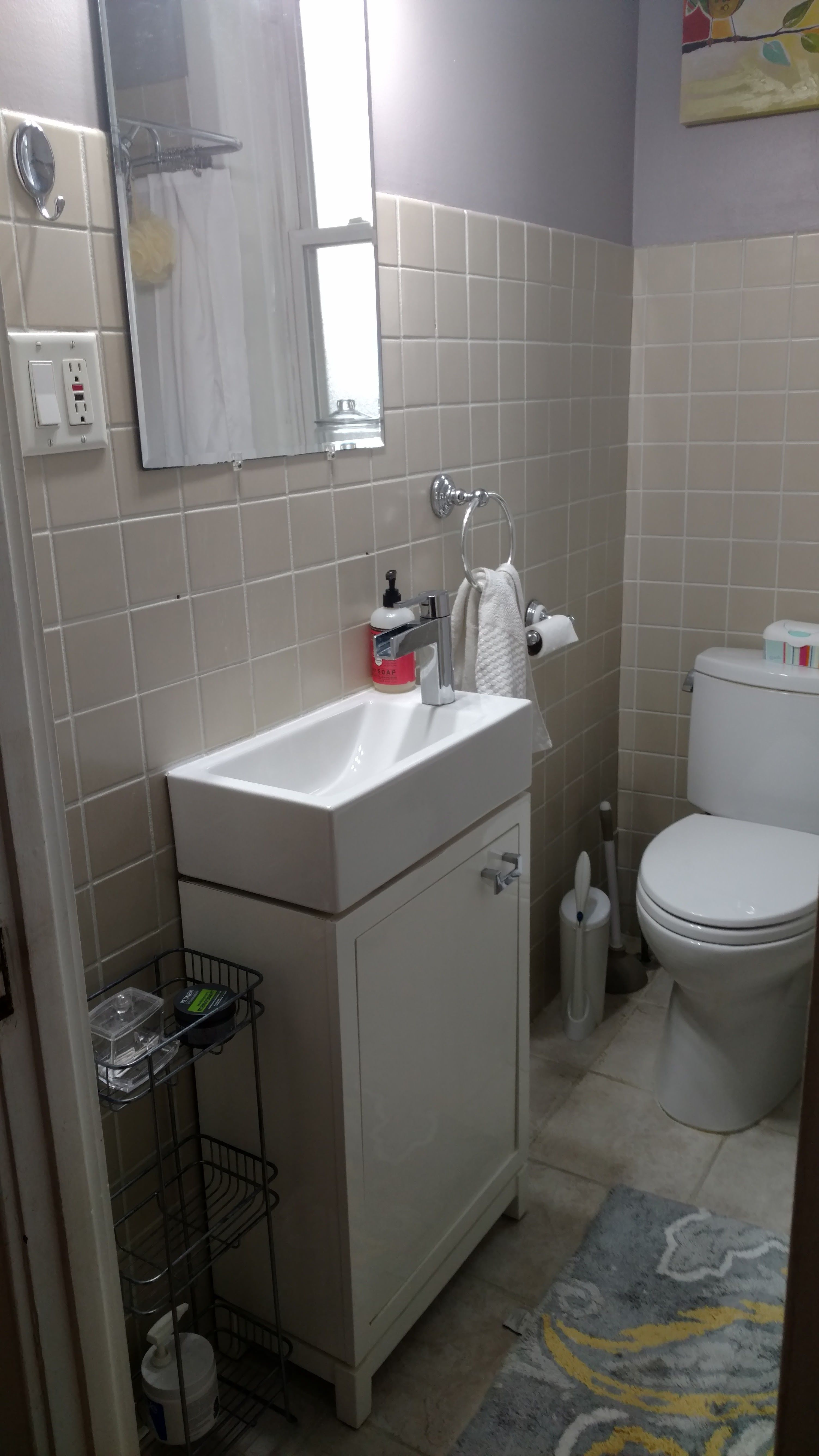 Chicago Condo Small Bathroom Remodel Complete Gut QuickCrafter - Bathroom gut and remodel