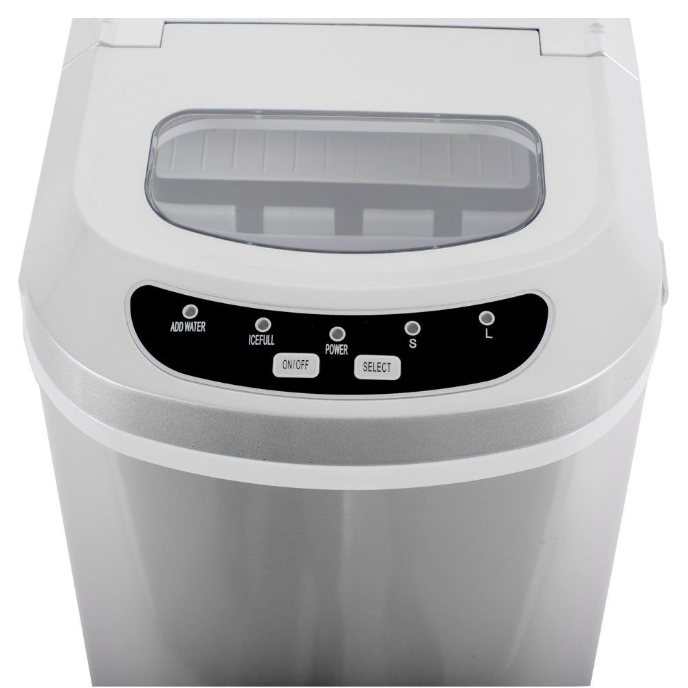 Smeta Portable Counter Top Ice Maker Machineproduces 26 Lb Day Two