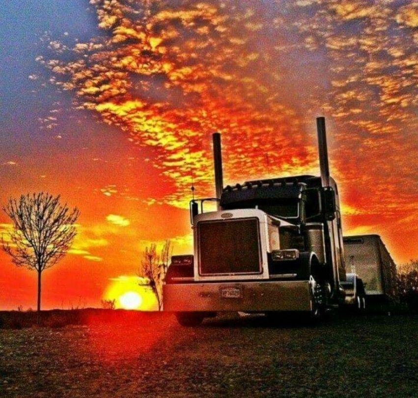 Home Show trucks, Peterbilt trucks, Driving school