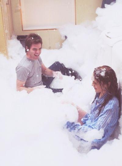 Jake (Chris Pine) and Ashleigh (Lindsay Lohan) || Just My Luck