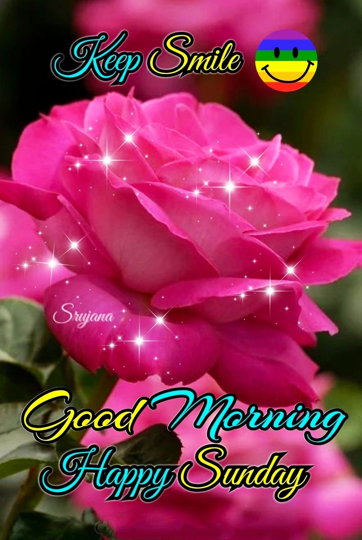 Good Morning Happy Sunday Greetings Good Morning Happy Sunday