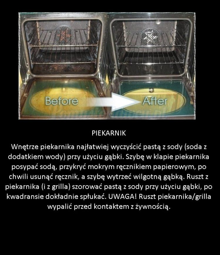 Jak wyczyścić piekarnik szybko i bez wysiłku!