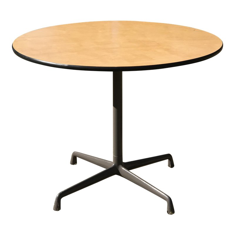 Mid Century Modern Eames For Herman Miller Dining Table Dining Table Fine Furniture Table